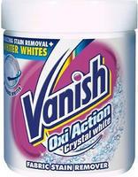VANISH OXI ACTION KRYSTAL WHITE ODTRAŇOVAČ SKVRN 450 G
