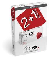 KOTEX TAMPONY SUPER 3X16 KS