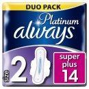 ALWAYS PLATINUM ULTRA SUPER 14 KS