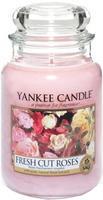YANKEE CANDLE CLASSIC 623 G FRESH CUT ROSES