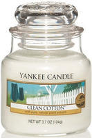 YANKEE CANDLE CLASSIC MALÝ 104 G CLEAN COTTON
