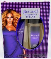BEYONCE WOMEN MIDNIGHT HEAT PARFUM DEOEDORANT SPRAY 75 ML+BODY LOTION 75 ML