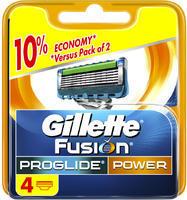 GILLETTE FUSION PROGLIDE POWER NÁHRADNÍ HLAVICE 4 KS