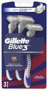 GILLETTE BLUE3 POHOTOVÁ HOLÍTKA 3KS BARCELONA