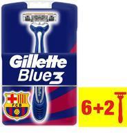 GILLETTE BLUE3 POHOTOVÁ HOLÍTKA 6+2 KS BARCELONA