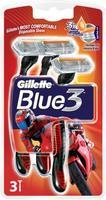 GILLETTE BLUE3 PRIDE POHOTOVÁ HOLÍTKA 3 KS