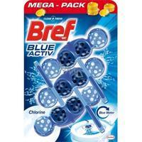 BREF BLUE AKTIV WC BLOK CHLORINE 3X50 G