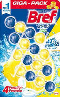 BREF POWER ACTIV WC BLOK OCEAN & LEMON 4X50 G