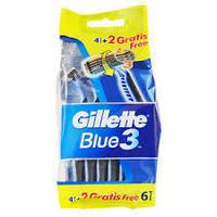 GILLETTE BLUE3 POHOTOVÁ HOLÍTKA 4+2 KS