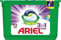 ARIEL LIQUID TABLETY COLOR & STYLE 16 KS