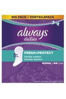 ALWAYS SLIP FRESH & PROTECT NORMAL 60 KS