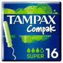 TAMPAX COMPAK TAMPONY SUPER 16 KS - 1