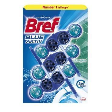 BREF BLUE AKTIV WC BLOK EUCALYPTUS 3X50 G