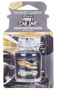 YANKEE CANDLE CAR JAR LUXUSNÍ VISAČKA NEW CAR 1 KS