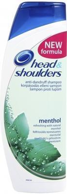 HEAD & SHOULDERS  ŠAMPON COOL MENTHOL 400 ML