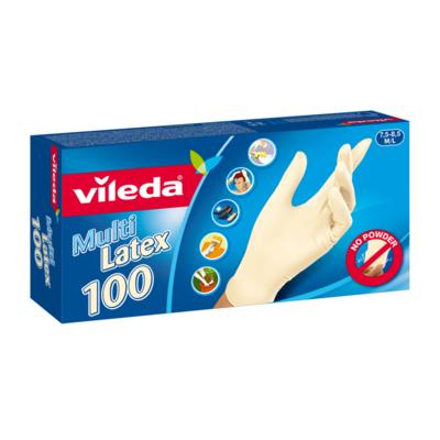 VILEDA RUKAVICE MULTILATEX S/M 100 KS 146087