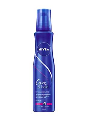 NIVEA PĚNOVÉ TUŽIDLO CARE & HOLD(4) 150 ML