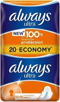 ALWAYS ULTRA DUO NORMAL PLUS 20 KS