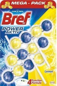 BREF POWER AKTIV WC BLOK LEMON 3X50 G
