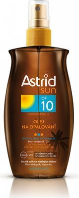 ASTRID SUN OLEJ NA OPALOVÁNÍ SPF10 200 ML