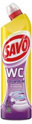 SAVO WC ACTIVE GEL LEVANDULE  750 ML