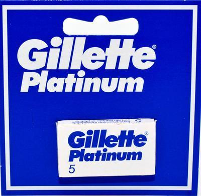 GILLETTE PLATINUM ČEPELKY 5 KS