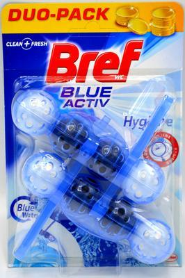 BREF BLUE AKTIV WC BLOK HYGIENE 2X50 G