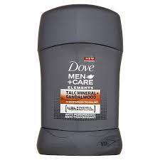 DOVE MEN+CARE DEO STICK TALC MINERALS+SANDAL WOOD 50 ML