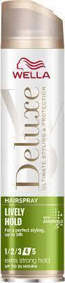 WELLA DELUXE LAK NA VLASY LIVELY HOLD (4) 250 ML