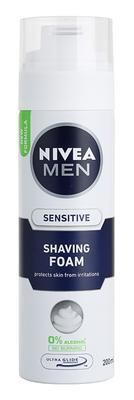 NIVEA MEN PĚNA NA HOLENÍ SENSITIVE 200 ML