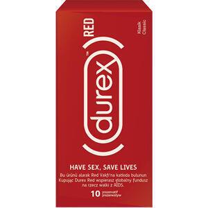 DUREX RED CLASSIC 10 KS