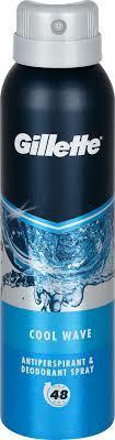 GILLETTE ANTIPERSPIRANT SPRAY COOL WAVE 150 ML
