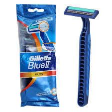 GILLETTE BLUE II PLUS POHOTOVÁ HOLÍTKA 5 KS