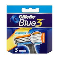 GILLETTE BLUE3 NÁHRADNÍ HLAVICE 3 KS