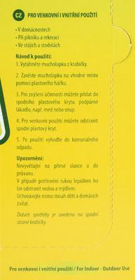 PAPÍRNA MOUDRÝ LAPAČ OCTOMILEK A MUCH FLY STICK 1 KS - 5