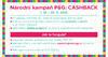 Národní kampaň Procter&Gamble Cashback