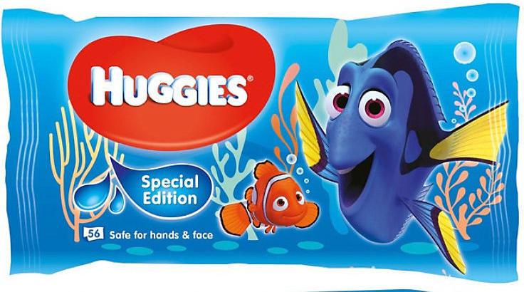 HUGGIES WIPES DISNEY DORY 56 KS