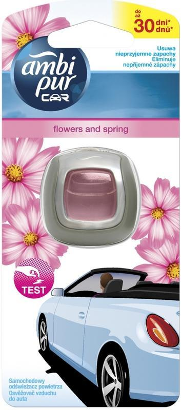 AMBI PUR CAR CLIP FLOWERS & SPRING 2 ML