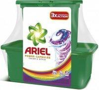 ARIEL ACTIVE GEL COLOR&STYLE 55 KS (23+22)