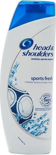 HEAD&SHOULDERS ŠAMPON SPORT FRESH 400 ML