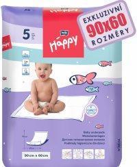 BELLA BABY HAPPY PŘEBALOVACÍ PODLOŽKY 5 KS 60x90