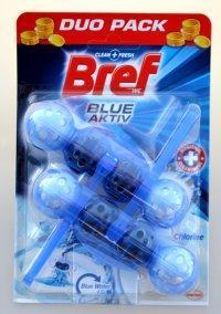 BREF BLUE AKTIV WC BLOK CHLORINE 2X50 G