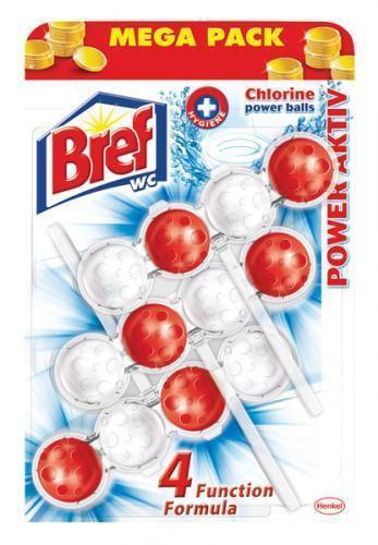 BREF POWER ACTIV WC BLOK CHLORINE 3X50 GR