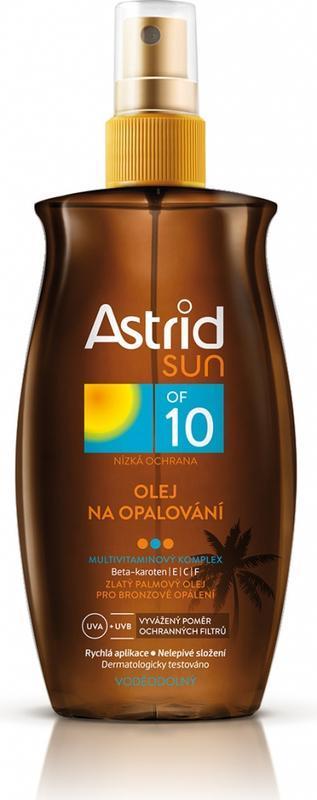 ASTRID SUN OLEJ NA OPALOVÁNÍ OF 10 200 ML