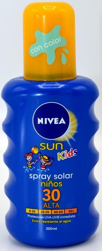 NIVEA SUN KIDS SUN SPRAY SPF30 SPRAY NA OPALOVÁNÍ 200 ML
