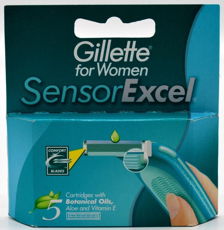 GILLETTE SENSOR EXCEL FOR WOMEN NÁHRADNÍ HLAVICE 5 KS