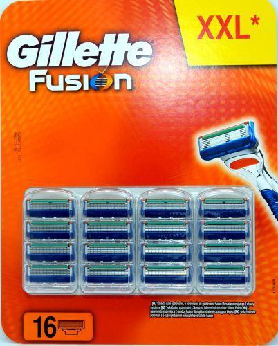 GILLETTE FUSION NÁHRADNÍ HLAVICE 16 KS