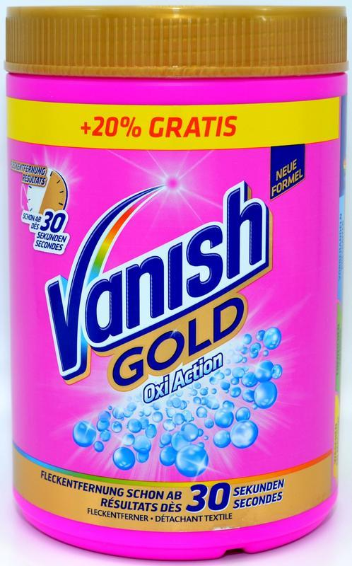 VANISH OXI ACTION GOLD COLOR 1200 GR