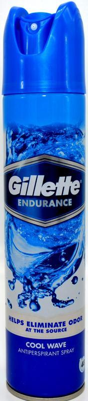 GILLETTE SERIES ANTIPERSPIRANT COOL WAVE 250 ML