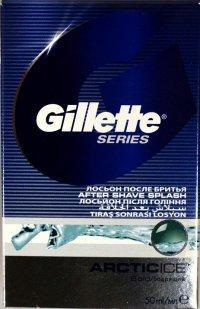 GILLETTE SERIES VODA PO HOLENÍ ARTIC ICE 50 ML
